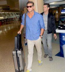 Christian Meier: airport look