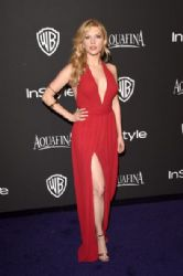 Katheryn Winnick: InStyle And Warner Bros. Golden Globes 2015 Party