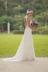 Zuria Vega: wedding look