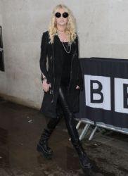 Taylor Momsen – BBC Radio Studios in Central London – January 2014