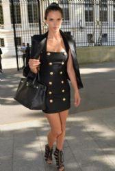 Alessandra Ambrosio: Paris look