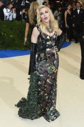 Madonna in Moschino :  2017 Met Gala