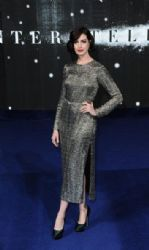Anne Hathaway attends the European premiere of