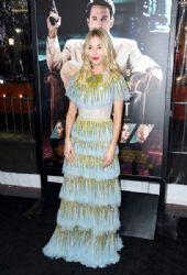 Sienna Miller wears Gucci Dress :