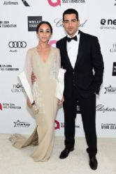 Jesse Metcalfe and Cara Santana: Elton John AIDS Foundation Oscars 2015 Viewing Party