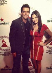 Maite Perroni and  Mane De la Parra: Latin Grammy Nominations Ceremony