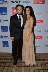 Tuba Büyüküstün and Onur Saylak attends UNICEF Aid Night