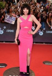 Carly Rae Jepsen wears Lumier - 2015 MuchMusic Video Awards