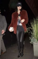 Kendall Jenner Arriving At Sexy Fish Asian Restaurant In London
