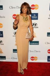 Gayle King arrives at Clive Davis and the Recording Academy's 2012 Pre-GRAMMY Gala