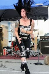 Lita on a Luchagors Concert