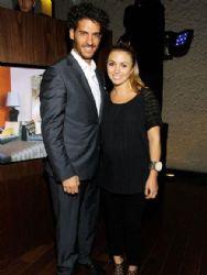 Erick Elias and Karla Guindi: social party