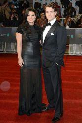 Gina Carano and Henry Cavill: 2013 Orange British Academy Film Awards (BAFTA) took place in Londo