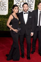 Mariqueen Maandig Reznor and Trent Reznor: 72nd Annual Golden Globe Awards 2015- Arrivals