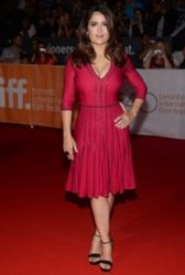 Salma Hayek: 2015 Toronto International Film Festival - 'Septembers of Shiraz' Premiere - Arrivals