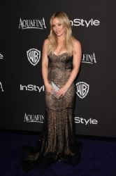 Hilary Duff: InStyle And Warner Bros. Golden Globes 2015 Party