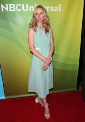 Anne Heche wears Bibhu Mohapatra - NBCUniversal's 2014 Summer TCA Tour Day 2