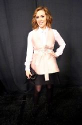 Alyssa Milano wears Robb Marissa Webb - Marisa Webb fall 2014 front row