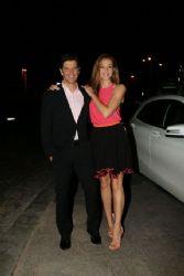 Sakis Rouvas and Katia Zygouli: bar restaurant opening event
