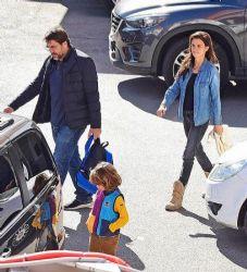 Penelope Cruz and Javier Bardem: doctor's visit