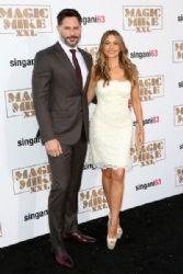 Sofia Vergara and Joe Manganiello: Premiere of Warner Bros. Pictures' 'Magic Mike XXL' - Arrivals