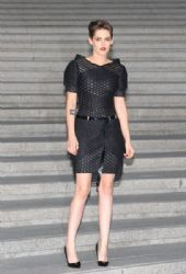 Kristen Stewart arrives the Chanel 2015/16 Cruise Collection