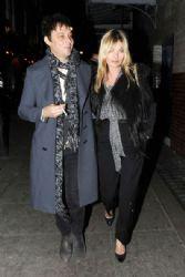 Kate Moss & Jamie Hince Leaving J Sheekey Restaurant