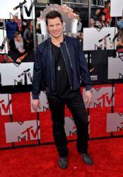 Nick Lachey: 2014 MTV Movie Awards - Arrivals
