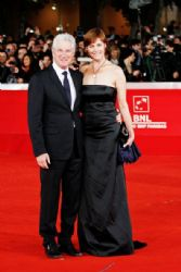 LRichard Gere and Carey Lowell attend the 6th Annual International Film Festival of Rome in Italy
