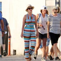Katy Perry: Mykonos look