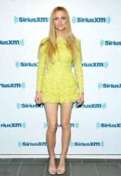 Brooklyn Decker wears Valentino - SiriusXM Studios