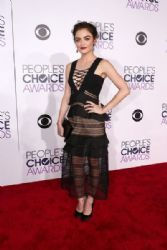 Lucy Hale: People's Choice Awards 2016 - Red Carpet