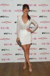 Juliette Lewis wears Azarro - 'Kelly & Cal' NY Screening