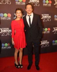 Gimena Accardi and Nicolás Vázquez: Todos Juntos 2015