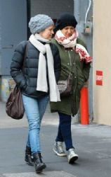 Maya Rudolph: out and about New York