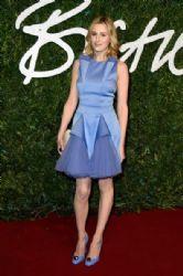 Laura Carmichael wears Christopher Kane - 2014 British Fashion Awards