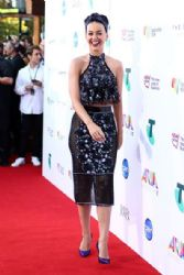 Katy Perry wears Jaime Lee Major - 2014 Aria Awards In Sydney