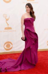 Linda Cardellini wears Donna Karan Atelier - 2013 Primetime Emmy Awards