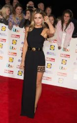 Abbey Clancy wears Versus + Anthony Vaccarello - Pride Of Britain Awards