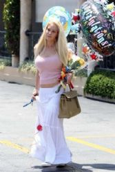 Heidi Montag: treated to a festive baby shower in LA