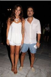 Katerina Papoutsaki and Panagiotis Pilafas: theater night