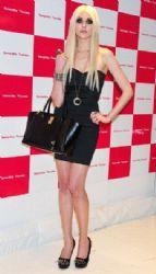 Taylor Momsen: at the Samantha Thavasa Handbag event in Tokyo