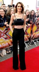 Cheryl wears Mugler - The X Factor Manchester Auditions