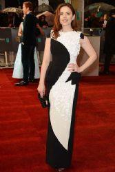 Hayley Atwell: 2013 Orange British Academy Film Awards (BAFTA) took place in Londo