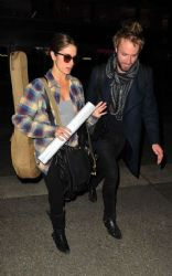 Nikki Reed & Paul McDonald: LAX Lovers