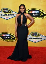 Ashanti arrives at the 2014 NASCAR Sprint Cup Series Awards