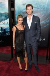 Elsa Pataky and Chris Hemsworth: 'In the Heart of the Sea' New York Premiere