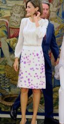 Queen Letizia of Spain: royal auctions day
