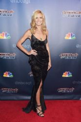 Heidi Klum wears Zac Posen - 'America's Got Talent' Season 9 Finale Red Carpet Event