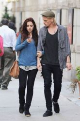 Lily Collins & Jamie Campbell Bower's Dessert Date